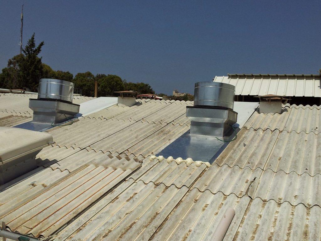 מערכות אוורור תעשייתי